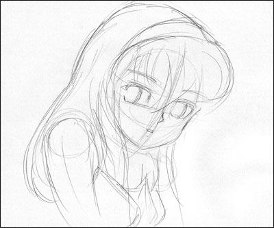 Assez Apprendre à dessiner une jeune fille mimi (style Shôjo) AX03