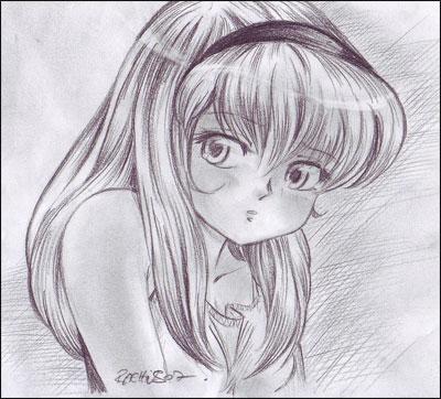 comment dessiner un fille