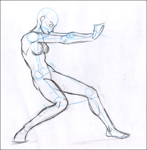 Comment dessiner un nu masculin au crayon ? - Dessin
